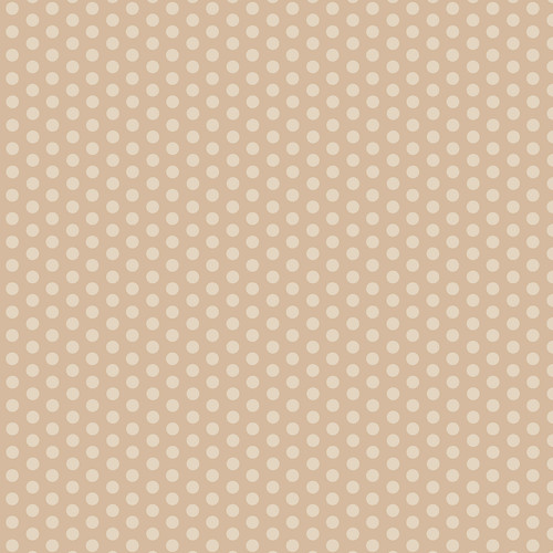 Westcott Small Dots Art Canvas Backdrop with Hook-and-Loop Attachment (3.5 x 3.5', Brown)