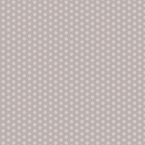 Westcott Small Dots Art Canvas Backdrop with Hook-and-Loop Attachment (3.5 x 3.5', Gray)
