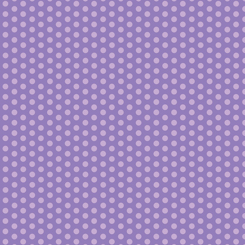 Westcott Small Dots Art Canvas Backdrop with Hook-and-Loop Attachment (3.5 x 3.5', Purple)
