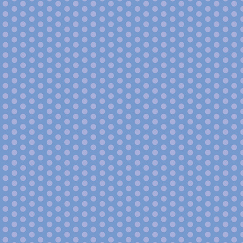 Westcott Small Dots Matte Vinyl Backdrop with Hook-and-Loop Attachment (3.5 x 3.5', Blue)