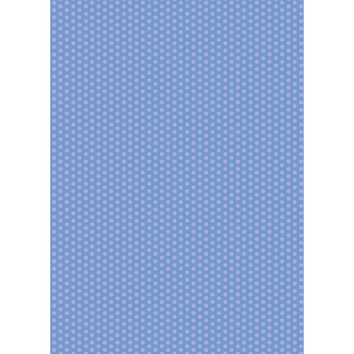 Westcott Small Dots Art Canvas Backdrop with Grommets (5 x 7', Blue)