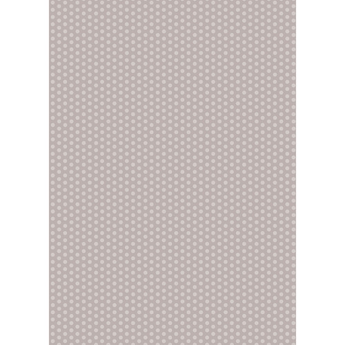 Westcott Small Dots Art Canvas Backdrop with Grommets (5 x 7', Gray)