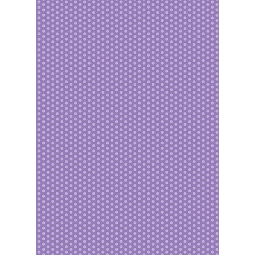 Westcott Small Dots Art Canvas Backdrop with Grommets (5 x 7', Purple)