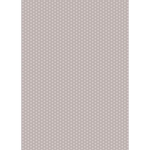 Westcott Small Dots Matte Vinyl Backdrop with Grommets (5 x 7', Gray)