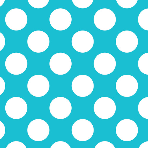 Westcott Large Dots Art Canvas Backdrop with Hook-and-Loop Attachment (3.5 x 3.5', Blue)