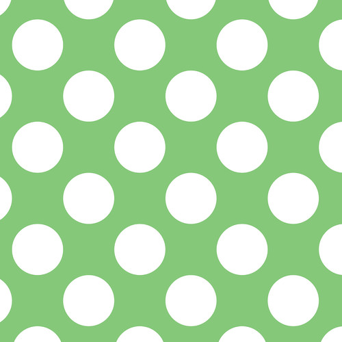 Westcott Large Dots Art Canvas Backdrop with Hook-and-Loop Attachment (3.5 x 3.5', Green)