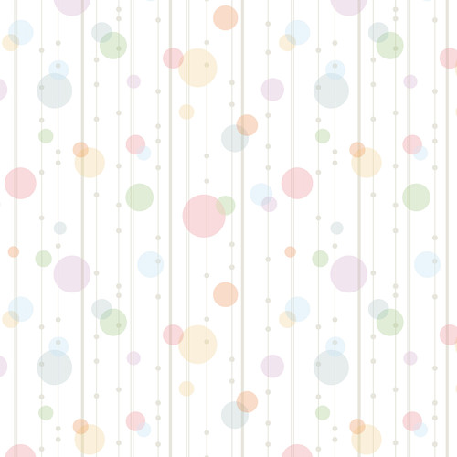 Westcott Party Dots Art Canvas Backdrop with Hook-and-Loop Attachment (3.5 x 3.5', Red)