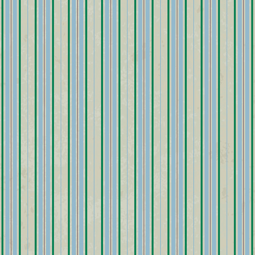 Westcott Striped Wallpaper Art Canvas Backdrop with Hook-and-Loop Attachment (3.5 x 3.5', Turquoise)