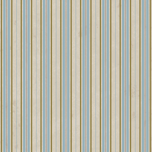 Westcott Striped Wallpaper Art Canvas Backdrop with Hook-and-Loop Attachment (3.5 x 3.5', Brown)