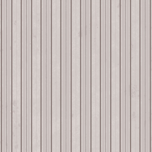 Westcott Striped Wallpaper Art Canvas Backdrop with Hook-and-Loop Attachment (3.5 x 3.5', Gray)