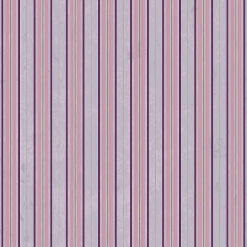Westcott Striped Wallpaper Art Canvas Backdrop with Hook-and-Loop Attachment (3.5 x 3.5', Purple)
