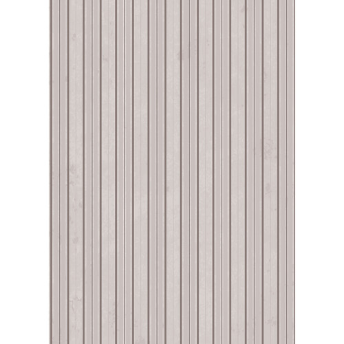 Westcott Striped Wallpaper Art Canvas Backdrop with Grommets (5 x 7', Gray)