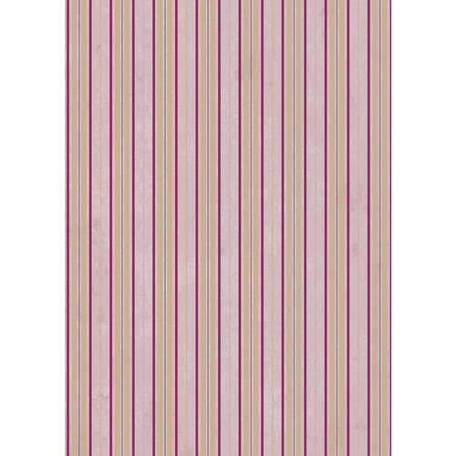 Westcott Striped Wallpaper Art Canvas Backdrop with Grommets (5 x 7', Pink)