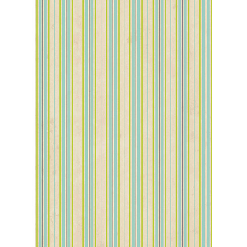Westcott Striped Wallpaper Art Canvas Backdrop with Grommets (5 x 7', Yellow)