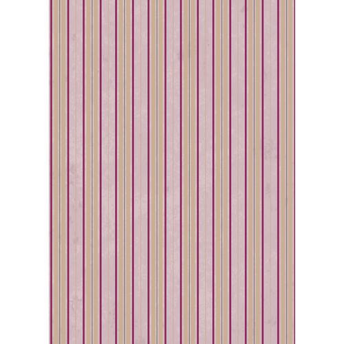 Westcott Striped Wallpaper Matte Vinyl Backdrop with Grommets (5 x 7', Pink)