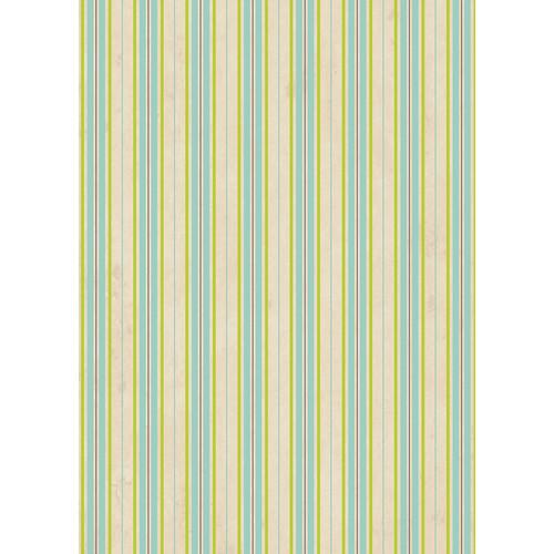 Westcott Striped Wallpaper Matte Vinyl Backdrop with Grommets (5 x 7', Yellow)