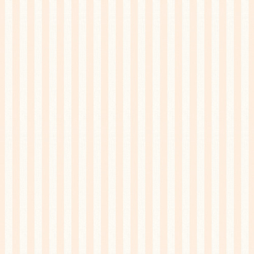 Westcott Paper Stripes Art Canvas Backdrop with Hook-and-Loop Attachment (3.5 x 3.5', Peach)