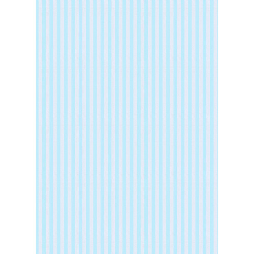 Westcott Paper Stripes Pattern Matte Vinyl Backdrop with Grommets (5 x 7', Blue)
