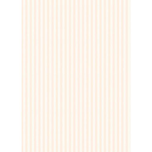 Westcott Paper Stripes Pattern Matte Vinyl Backdrop with Grommets (5 x 7', Peach)