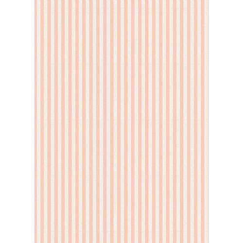 Westcott Paper Stripes Pattern Matte Vinyl Backdrop with Grommets (5 x 7', Orange)