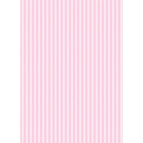 Westcott Paper Stripes Pattern Matte Vinyl Backdrop with Grommets (5 x 7', Pink)