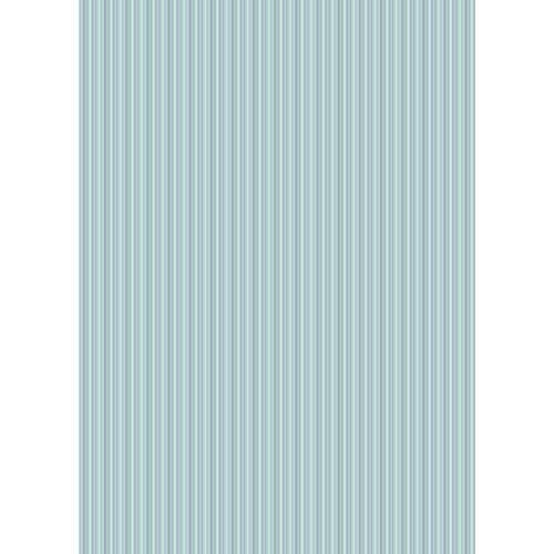 Westcott Vibrant Stripes Art Canvas Backdrop with Grommets (5 x 7', Light Blue)