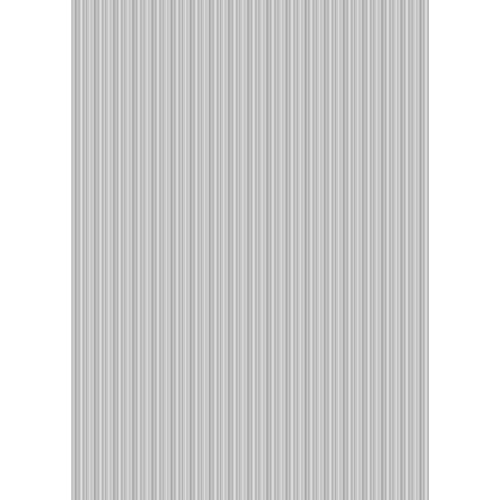 Westcott Vibrant Stripes Art Canvas Backdrop with Grommets (5 x 7', Light Gray)