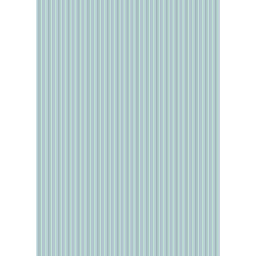 Westcott Vibrant Stripes Matte Vinyl Backdrop with Grommets (5 x 7', Light Blue)