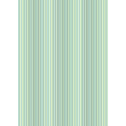 Westcott Vibrant Stripes Matte Vinyl Backdrop with Grommets (5 x 7', Light Green)