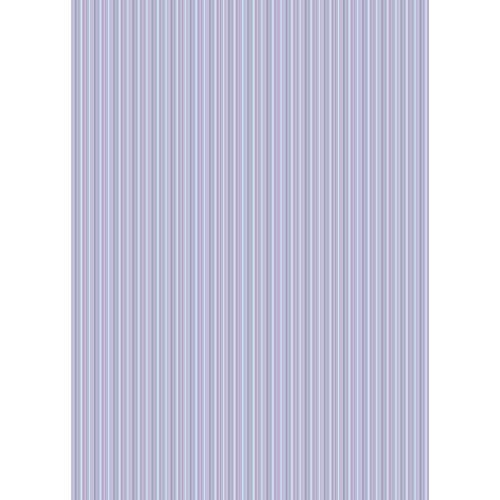 Westcott Vibrant Stripes Matte Vinyl Backdrop with Grommets (5 x 7', Light Purple)