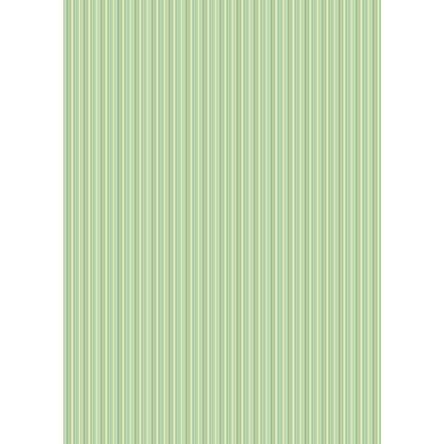 Westcott Vibrant Stripes Matte Vinyl Backdrop with Grommets (5 x 7', Light Yellow)