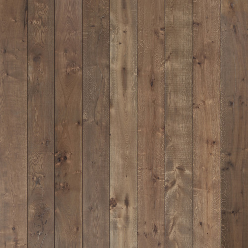 Westcott Wood Planks Matte Vinyl Backdrop with Hook-and-Loop Attachment (3.5 x 3.5', Rich Brown)