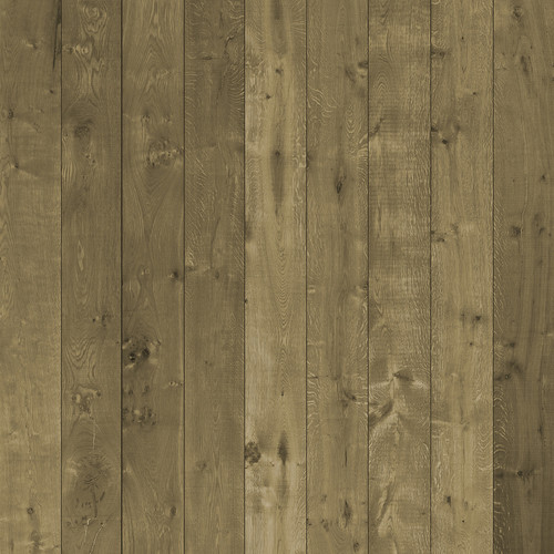 Westcott Wood Planks Matte Vinyl Backdrop with Hook-and-Loop Attachment (3.5 x 3.5', Rich Yellow)