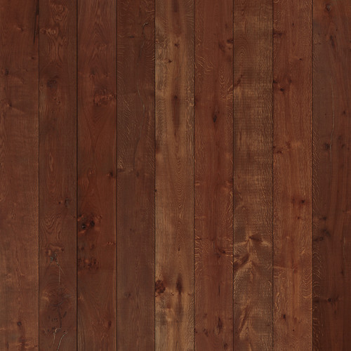 Westcott Wood Planks Pattern Art Canvas Backdrop with Hook-and-Loop Attachment (3.5 x 3.5', Cherry)