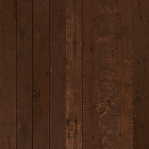Westcott Wood Planks Matte Vinyl Backdrop with Hook-and-Loop Attachment (3.5 x 3.5', Mocha)