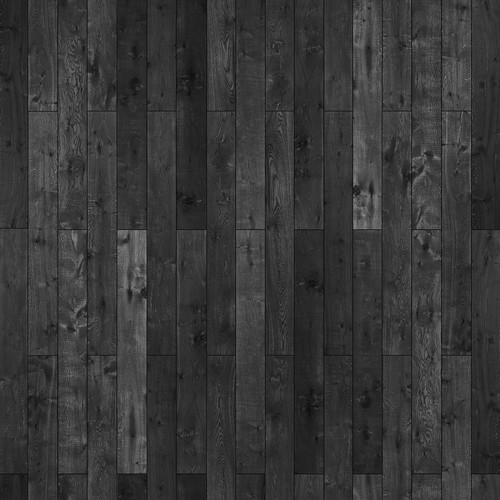 Westcott Western Wood Matte Vinyl Backdrop with Hook-and-Loop Attachment (3.5 x 3.5', Rich Gray)