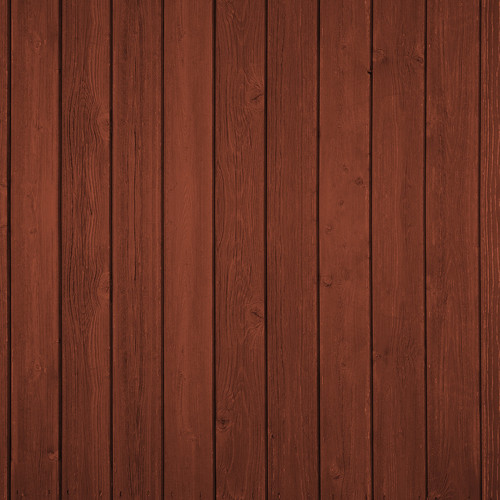 Westcott Vertical Wood Art Canvas Backdrop with Hook-and-Loop Attachment (3.5 x 3.5', Cherry)