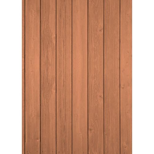 Westcott Vertical Wood Art Canvas Backdrop with Grommets (5 x 7', Light Oak)