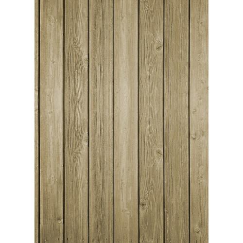 Westcott Vertical Wood Matte Vinyl Backdrop with Grommets (5 x 7', Bright Brown)