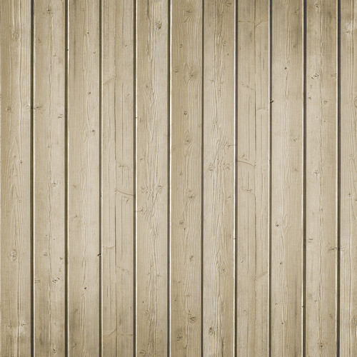 Westcott Narrow Planks Matte Vinyl Backdrop with Hook-and-Loop Attachment (3.5 x 3.5', Light Tan)