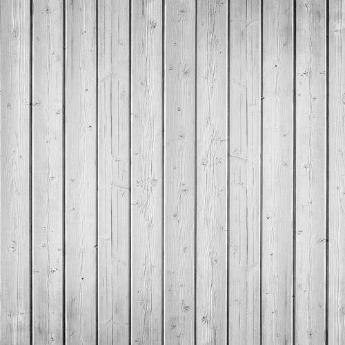Westcott Narrow Planks Matte Vinyl Backdrop with Hook-and-Loop Attachment (3.5 x 3.5', Light White)