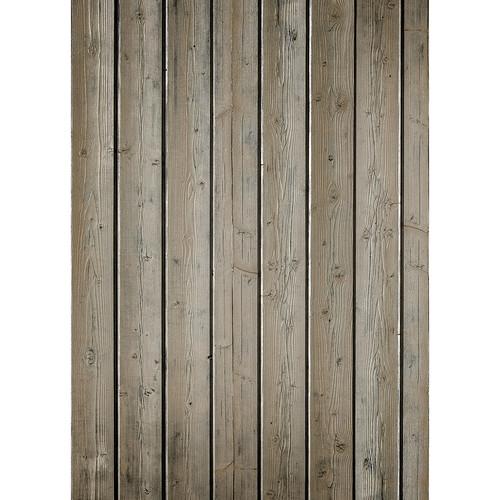 Westcott Narrow Planks Art Canvas Backdrop with Grommets (5 x 7', Light Brown)