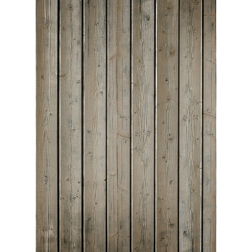 Westcott Narrow Planks Art Canvas Backdrop with Grommets (5 x 7', Light Brown)