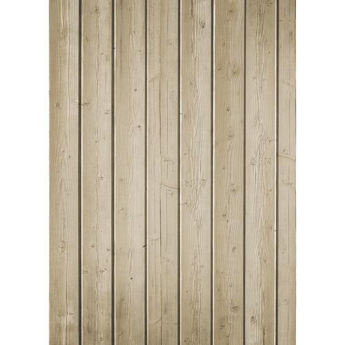 Westcott Narrow Planks Pattern Matte Vinyl Backdrop with Grommets (5 x 7', Light Tan)