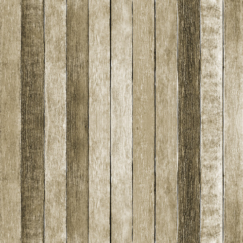 Westcott Rustic Wood Pattern Art Canvas Backdrop with Hook-and-Loop Attachment (3.5 x 3.5', Brown)