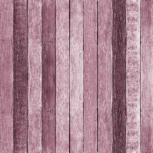 Westcott Rustic Wood Matte Vinyl Backdrop with Hook-and-Loop Attachment (3.5 x 3.5', Pink)