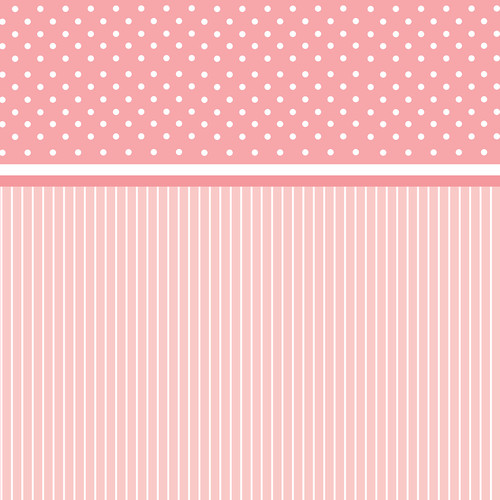 Westcott Dots-and-Stripes Art Canvas Backdrop with Hook-and-Loop Attachment (3.5 x 3.5', Red)
