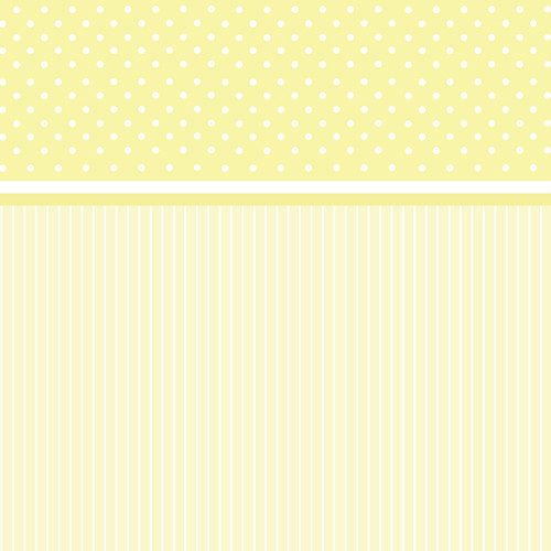 Westcott Dots-and-Stripes Art Canvas Backdrop with Hook-and-Loop Attachment (3.5 x 3.5', Yellow)