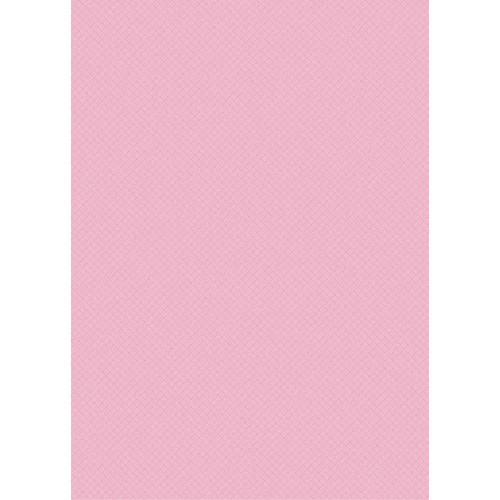 Westcott Subtle Hatched Art Canvas Backdrop with Grommets (5 x 7', Pink)