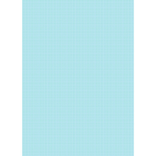 Westcott Tiny Hearts Art Canvas Backdrop with Grommets (5 x 7', Blue)